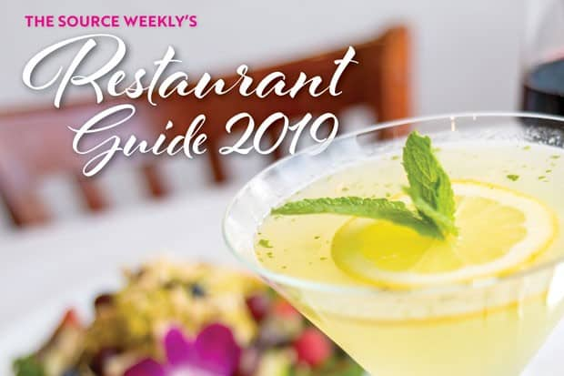 Source Weekly Restaurant Guide 2019